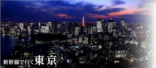 新幹線パックで行く東京旅行