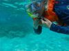 世界有数のスポットで体験ダイビング