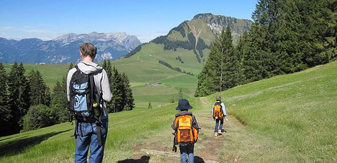 スイスの魅力2「ハイキングコース」