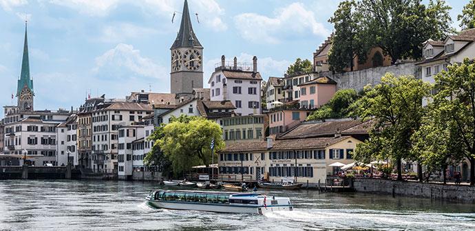 スイスの魅力3「中世の面影が残る町並み」