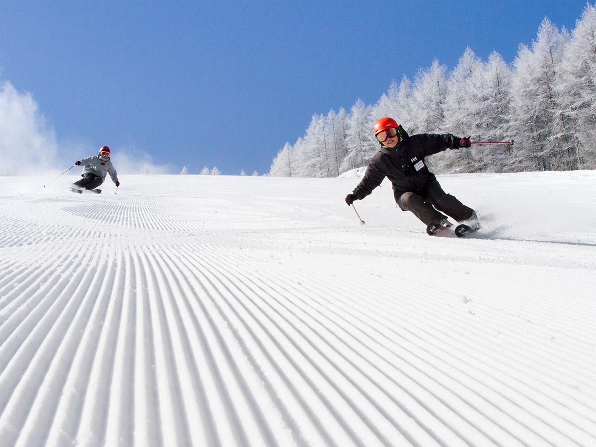 やぶはら高原スキー場のゲレンデ写真