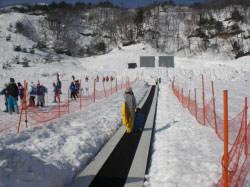 国境高原スノーパークのゲレンデ写真