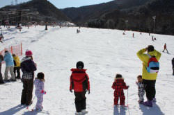 カムイみさかスキー場のゲレンデ写真