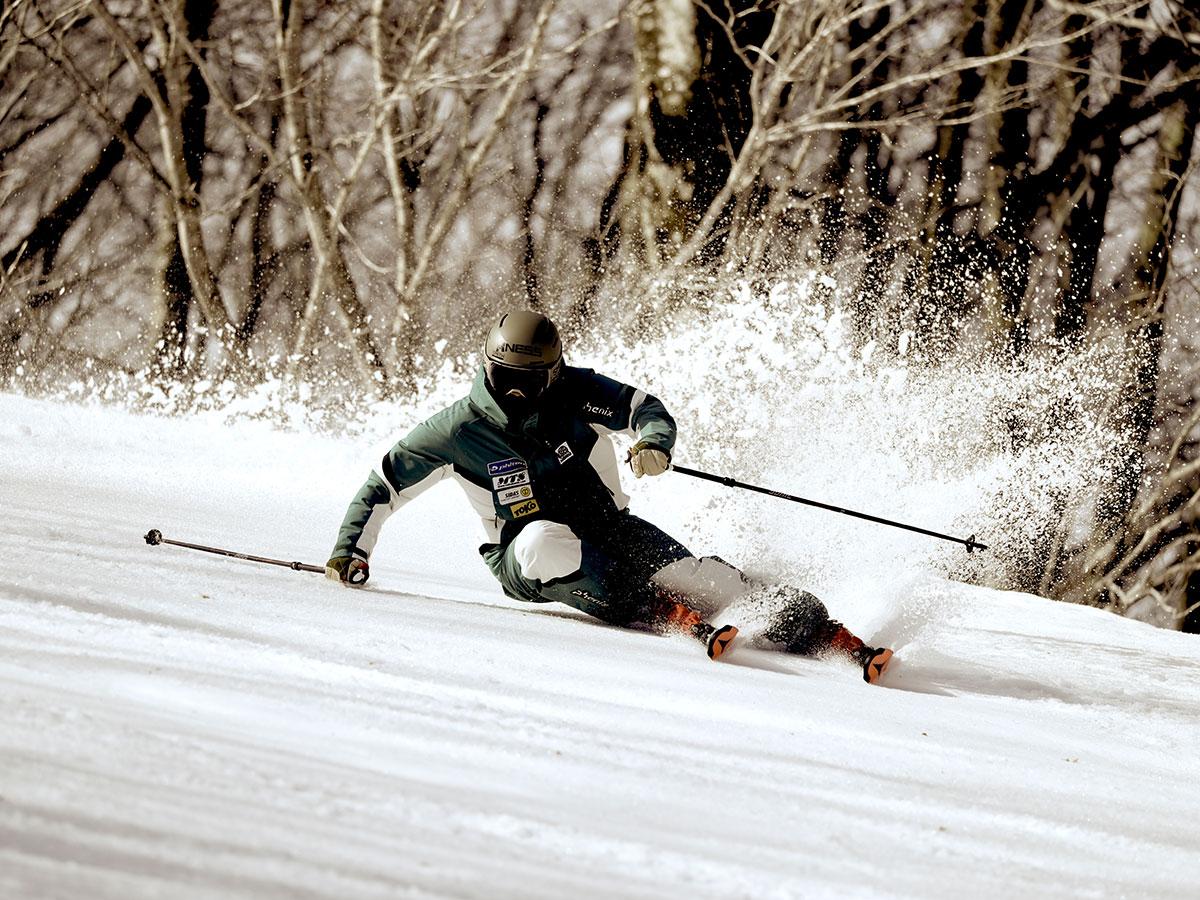 白馬乗鞍温泉スキー場のゲレンデ写真