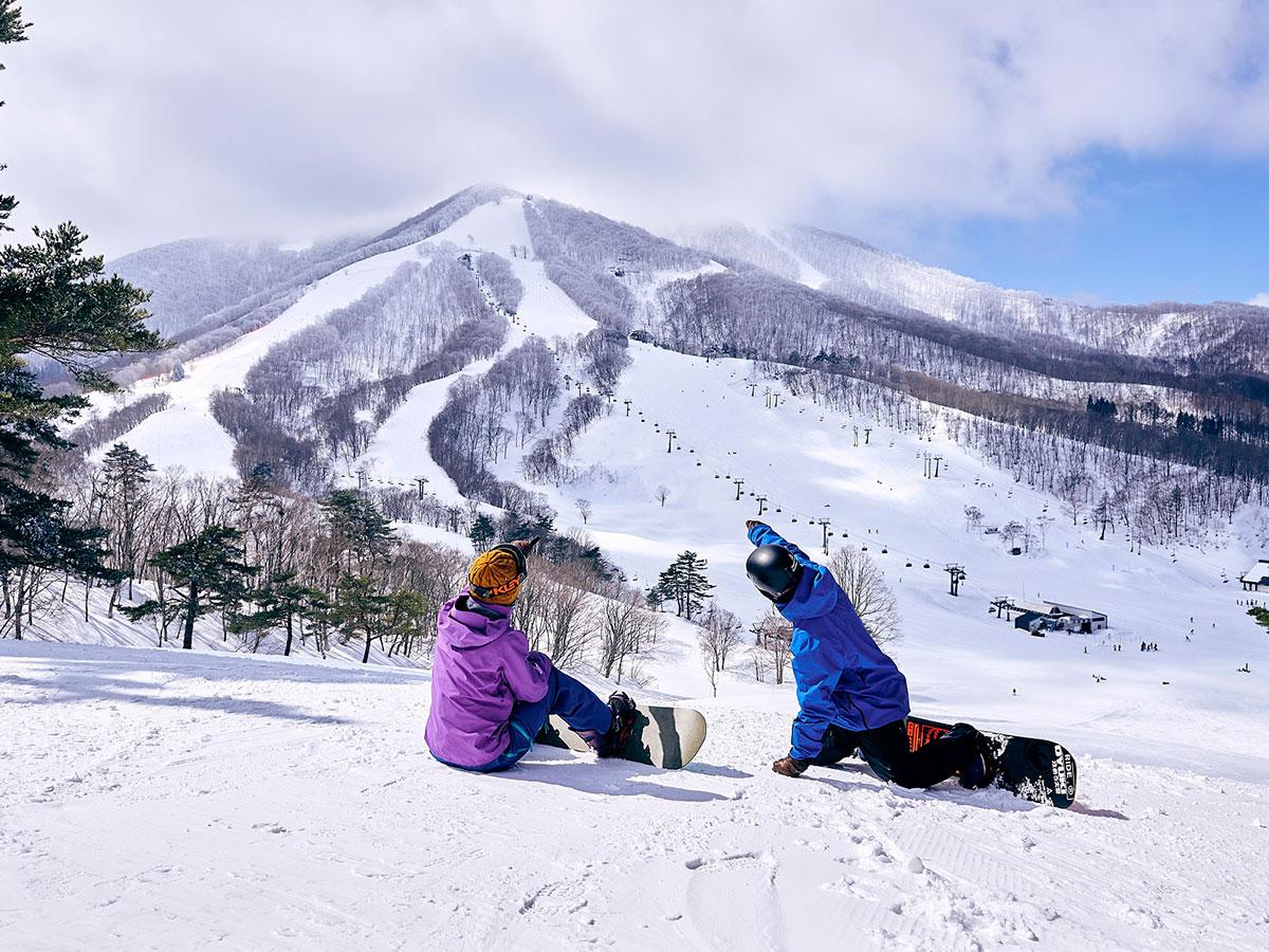 斑尾高原スキー場のゲレンデ写真