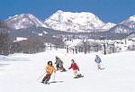 池の平温泉スキー場のゲレンデ写真