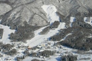 北志賀小丸山スキー場のゲレンデ写真