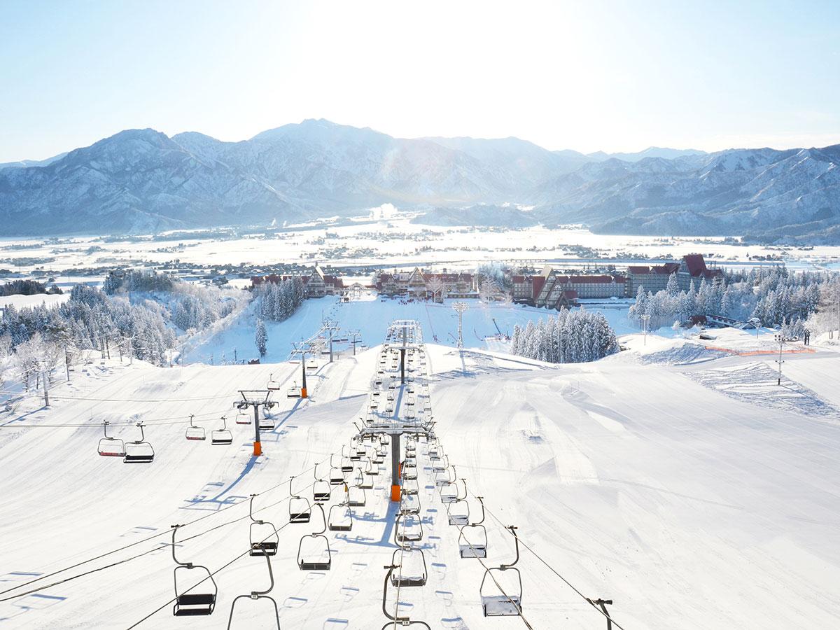 上越国際スキー場(上国)のゲレンデ写真