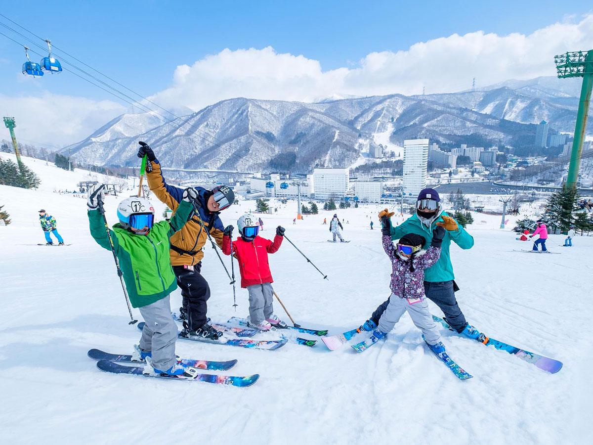 苗場スキー場スキー場のゲレンデ写真