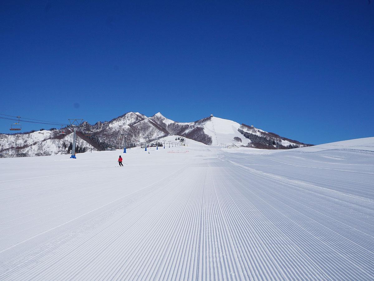 岩原スキー場のゲレンデ写真