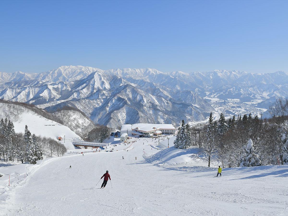 GALA湯沢スキー場のゲレンデ写真