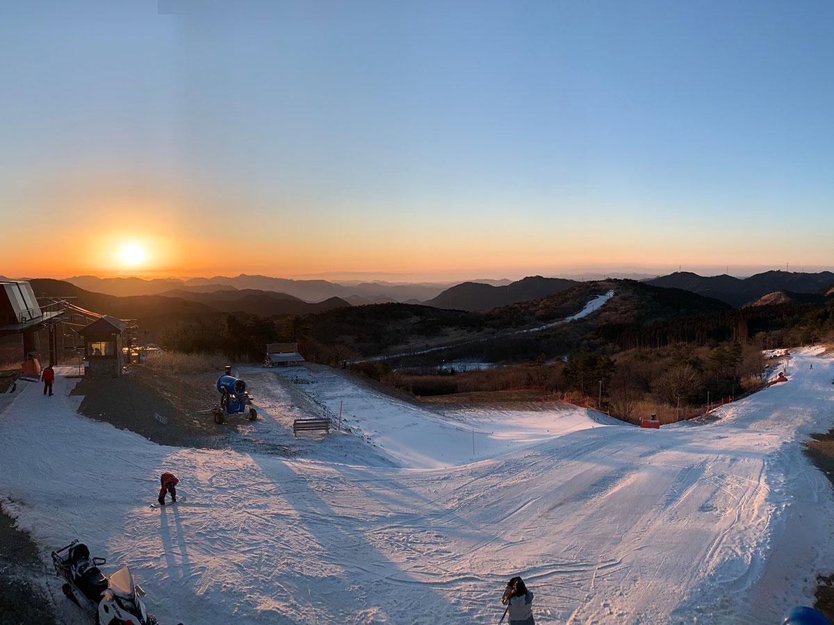 峰山高原リゾートのゲレンデ写真