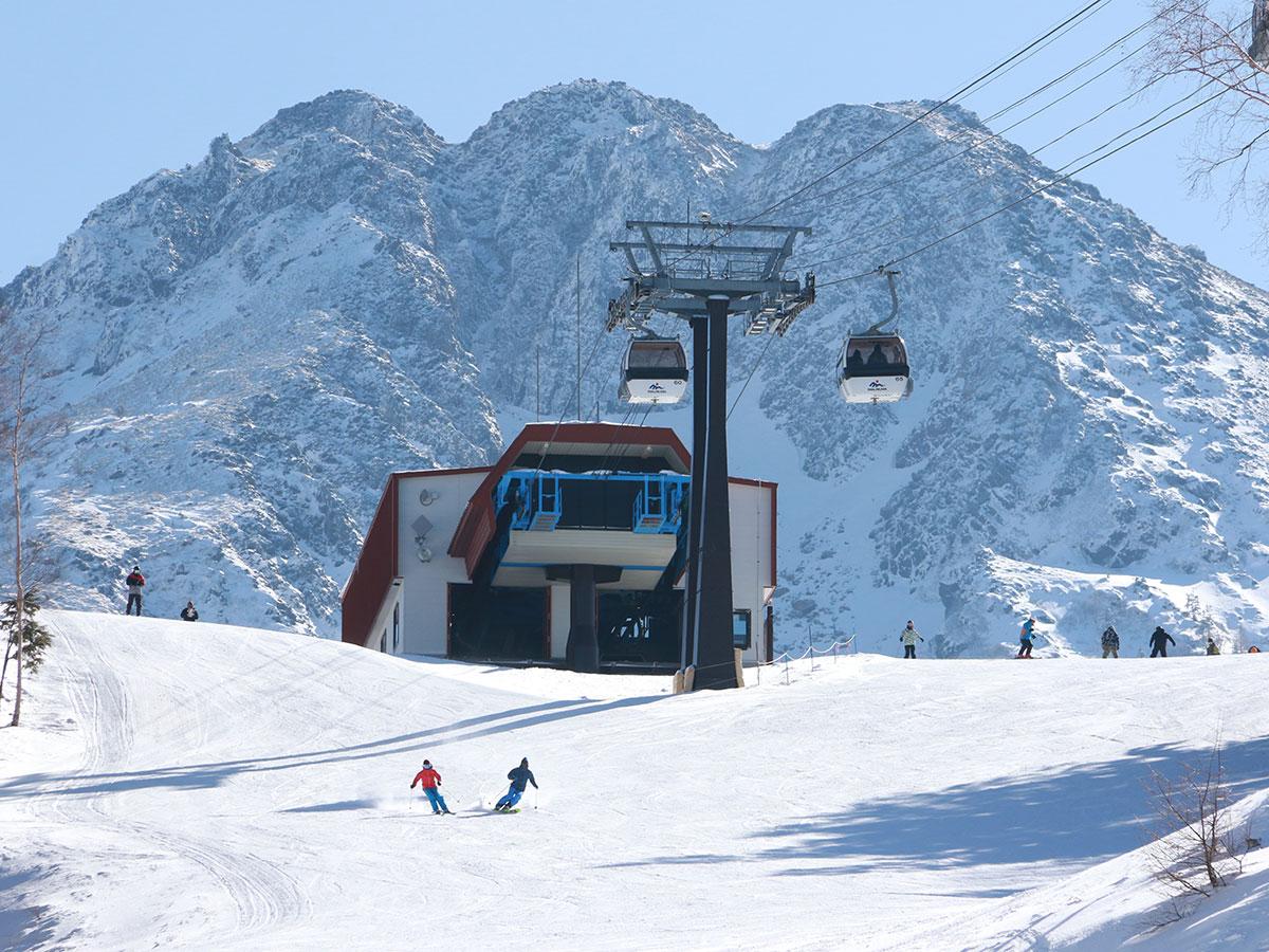 丸沼高原スキー場のゲレンデ写真