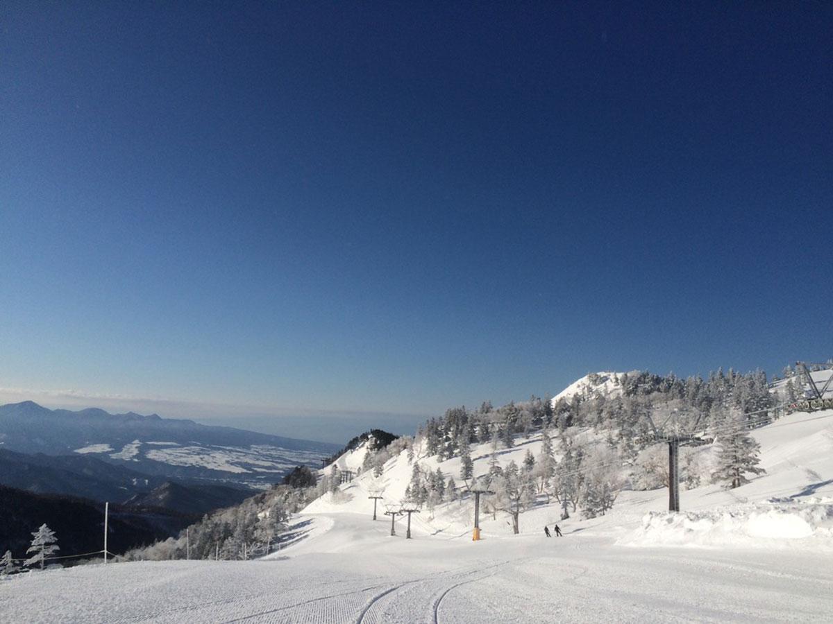 川場スキー場のゲレンデ写真