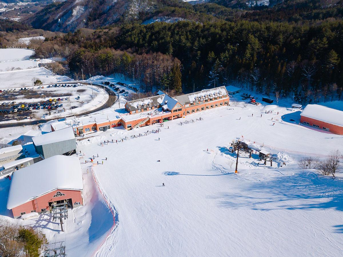 ノルン水上スキー場のゲレンデ写真