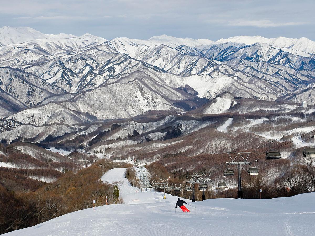宝台樹スキー場のゲレンデ写真