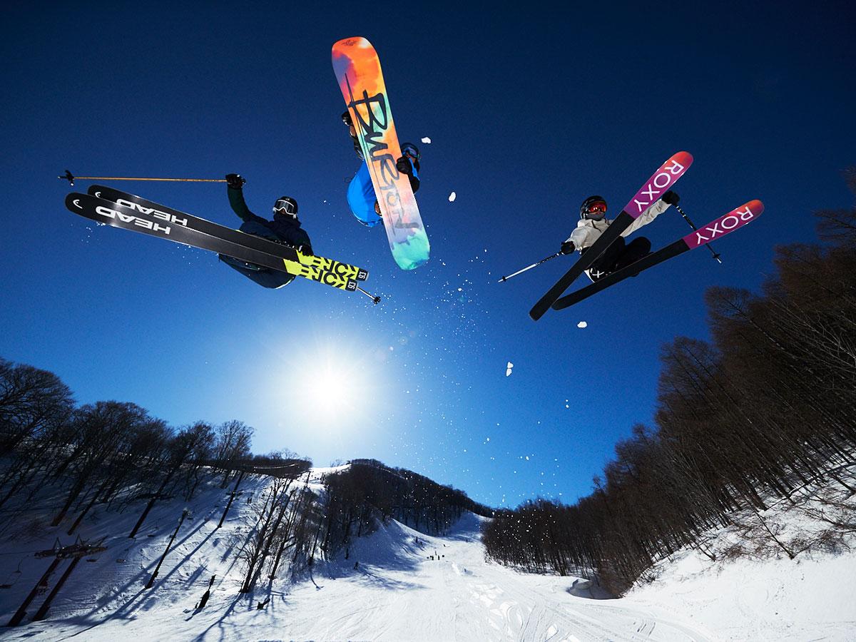 星野リゾート 猫魔スキー場のゲレンデ写真