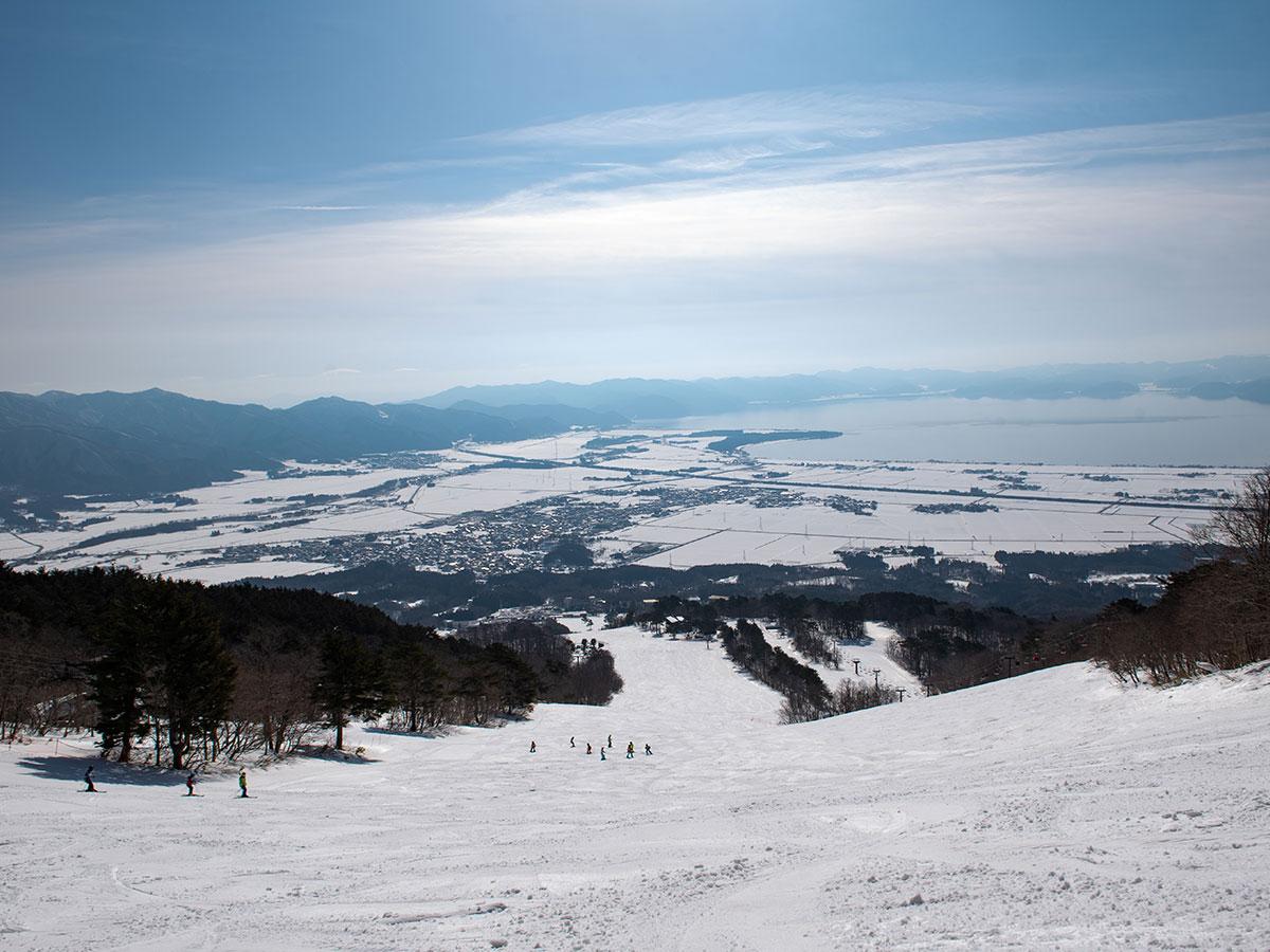 猪苗代スキー場のゲレンデ写真