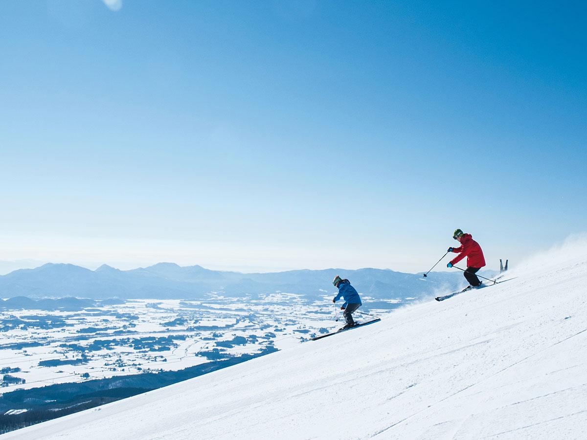 雫石スキー場のゲレンデ写真