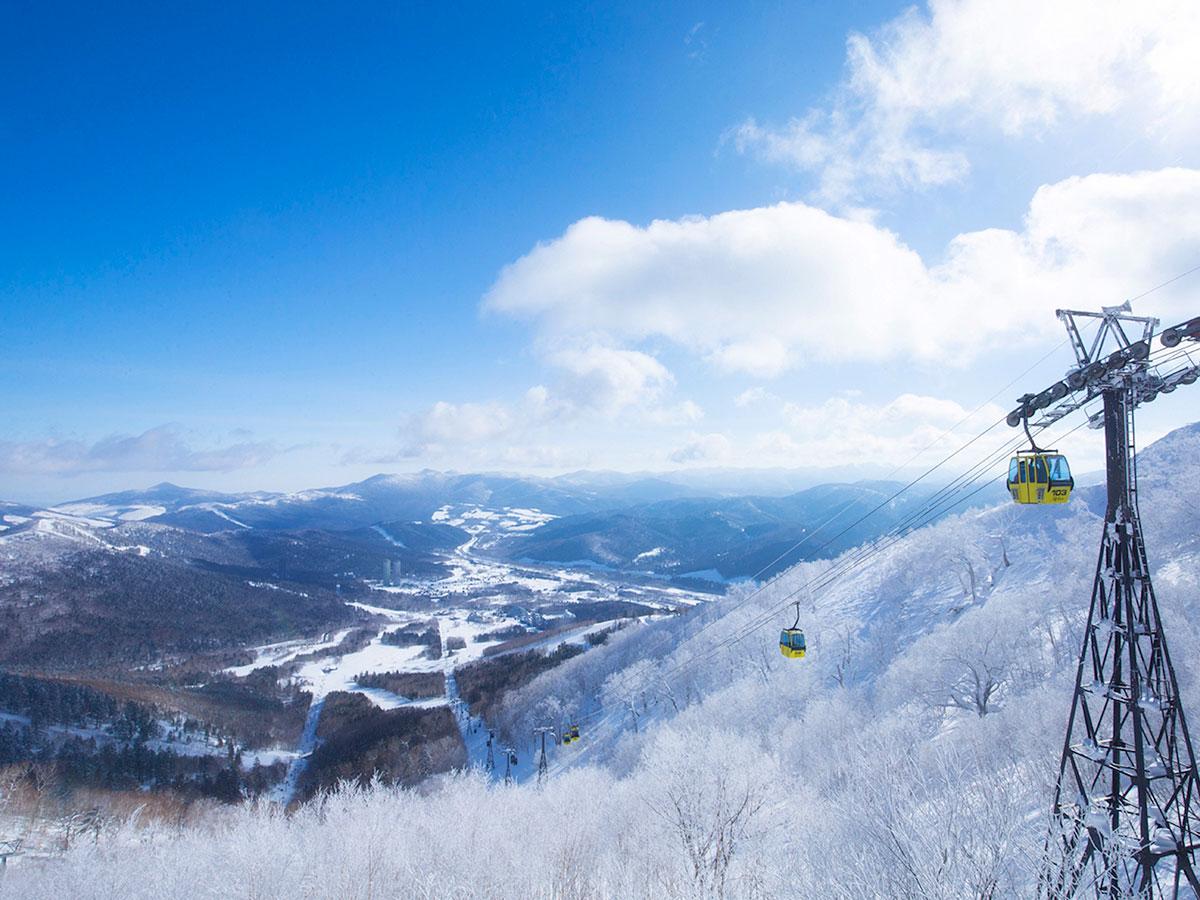 星野リゾート トマム スキー場のゲレンデ写真